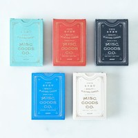 Designer Playing Cards (2 Decks) - Playing Cards -- Leisure - Miscellaneous Goods Company | Shop Food52