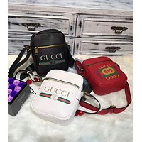 Gucci Popular Women Shopping Bag Leather Single Shoulder Bag Crossbody Satchel I-AGG-CZDL