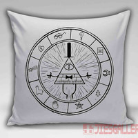Gravity Falls Map Throw Pillow for the Home Decor