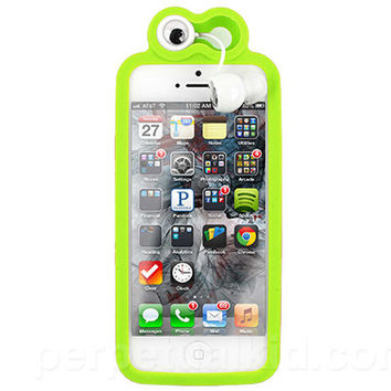FROGGY IPHONE 5 CASE & EARBUDS