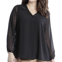 Chase Pleat Blouse