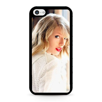 Taylor Swift In White iPhone 5C Case