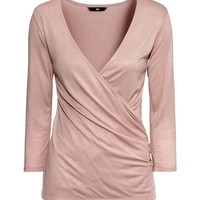 Wraparound Top - from H&M