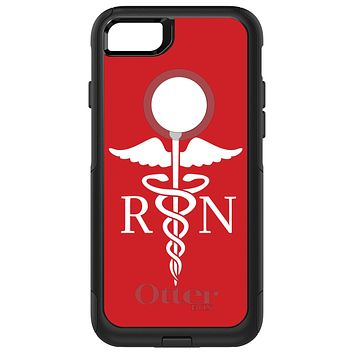 DistinctInk™ OtterBox Commuter Series Case for Apple iPhone or Samsung Galaxy - RN Registered Nurse Symbol