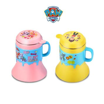 Hot sale Genuine paw patrol 304 stainless steel horn Trumpet cup can be split to clean children's multi-purpose milk juice cup