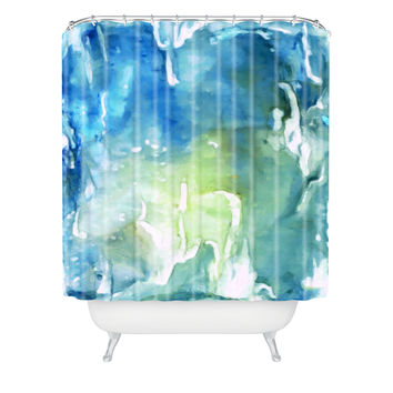 Rosie Brown Sea World Shower Curtain