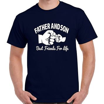 Father and Son Best Friends T Shirt - Our T Shirt Shack