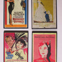 Audrey Hepburn Coasters - Great for the Audrey Hepburn Fans