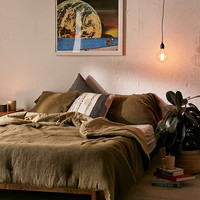 Kyah Textured Comforter - Urban Outfitters