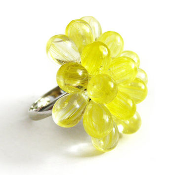 Lemon Berry Ring - Limited Edition Summer Cocktail Ring