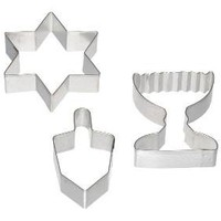 3-Piece Hanukkah Cookie Cutter Set | Crate&Barrel