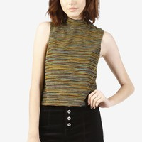 Gretchen Space Dyed Shell Top