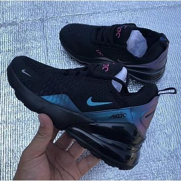 Nike Air Max 270 Chameleon Rear Real Air Cushion Running Shoes