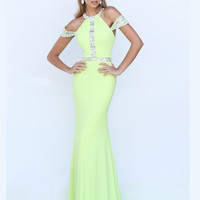 Sherri Hill 50341 Off The Shoulder Sleeves Formal Prom Gown