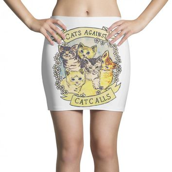 cats against cat calls Mini Skirts