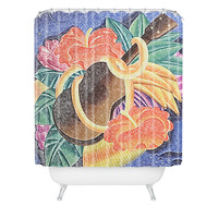 Deb Haugen Live Aloha Shower Curtain