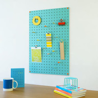 Medium Pegboard, Light Blue