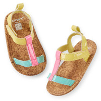 Carter's Strappy Sandal Crib Shoes