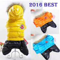 Winter Pet Dog Clothes Wear Jacket New Small medium Big Pet dog fashion clothes for dog XS S M L XL XXL Jumpsuit  Girl Summer