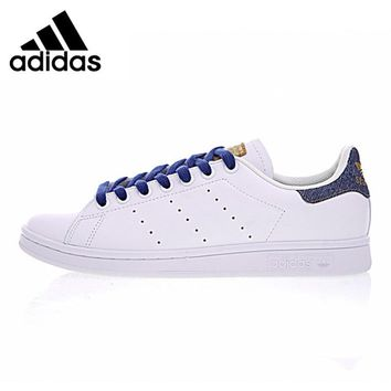 Original New Arrival Official Adidas Stan Smith Men's Women's Breathable Skateboarding Shoes Sneakers Good Quality BA7299