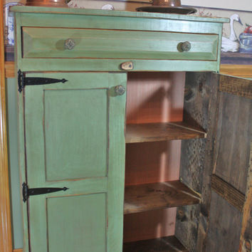 Cabinet, Shabby, Chic, Media Storage, Book Case, Pantry, Primitive, Rustic