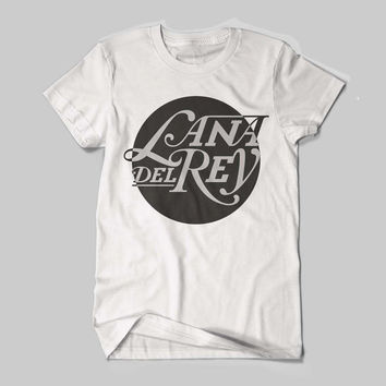 New Lana Del Rey Elizabeth Woolridge Grant American singer Logo Shirt Black and White Shirt Men or Women Shirt Unisex Size