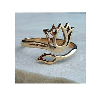Padma Adjustable Ring