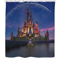 Walt Disney Castle Shower Curtain