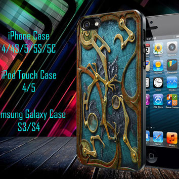 Steampunk Book Samsung Galaxy S3/ S4 case, iPhone 4/4S / 5/ 5s/ 5c case, iPod Touch 4 / 5 case