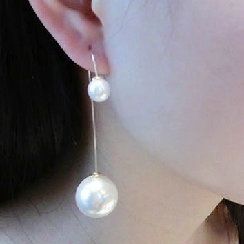 Pearl Sister Wrapping Ear Cuffs (Reversible) - LilyFair Jewelry
