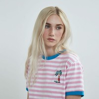 Aymmy in the Batty Girls Venice Ramp Border T-shirt - View all - NEW IN - Womens