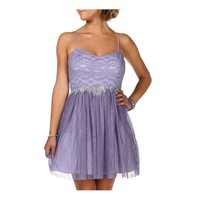 Adelle- Lavendar Homecoming Dress