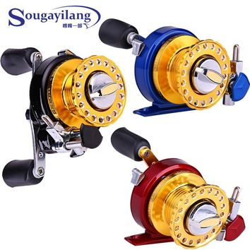 Promotion 2.5:1 7a Raft Fishing Reel Fishing Wheel Metal Spinning Trolling Coils Fly Ice Fishing Reel Carp Trout  Fishing Tackle