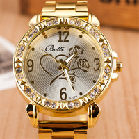 Comfortable Vintage Fashion Quartz Classic Watch Round Ladies Women Men wristwatch On Sales = 4661804932