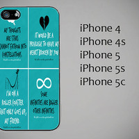The fault in our stars. Okey. Okey iPhone case. iPhone 4/4S case, iPhone 5 case, iPhone 5S case, iPhone 5C case, protective iPhone cover