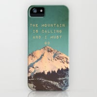 *** MOUNTAIN IS CALLING ***  iPhone Case by SUNLIGHT STUDIOS | Society6 for iPhone 5 + 4 S + 4 + 3 GS + 3 G + laptop + ipad + ipad mini ***