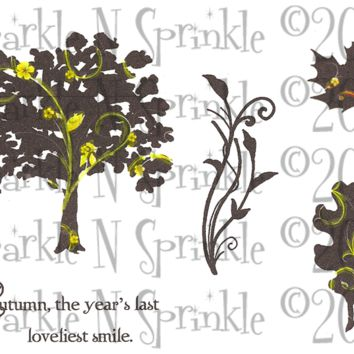 Loveliest Smile Rubber Stamp Set, 00-754P5