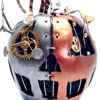 Steampunk Pumpkin with Monocle