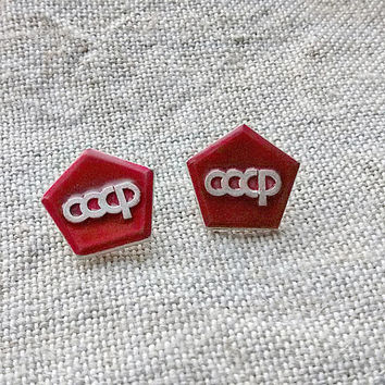 USSR quality mark Vintage state symbol of quality Old emblema high quality State standard pins Soviet badge Rare soviet pin icon Communism