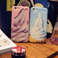 Iphone 6/6s Hot Sale Stylish Hot Deal Cute On Sale Korean Ice-cream Iphone Soft Phone Case [6281901766]