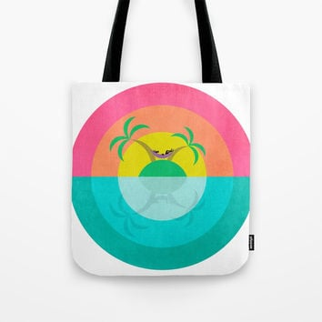 Summer Island Unicorn Canvas Print by That's So Unicorny