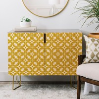 Heather Dutton Starbust Gold Credenza