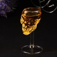 55ml Skull glass glass stein glass Head Drinking popular design new fashion party