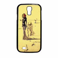 Salvador Dali Woman With Flower Head Samsung Galaxy S4 Case