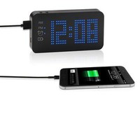 Power Bank Travel Clock