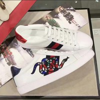 Gucci:Trending Fashion Casual Sports Shoes Snake