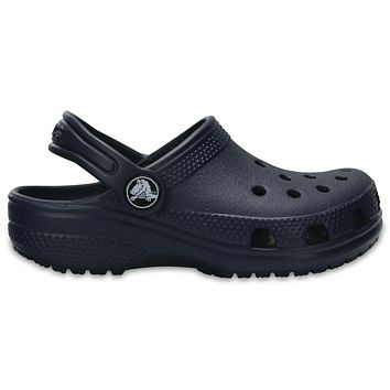 Beauty Ticks Crocs Navy Classic Clog