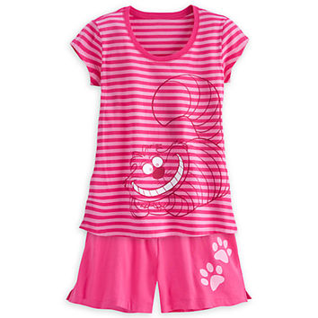 Cheshire Cat Pajama Short Set for Women