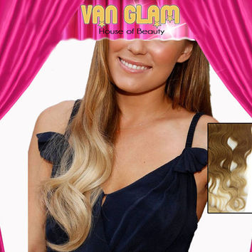Ombre Clip In Hair Extensions 22""