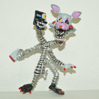 TOY MEXICAN FIGURE BOOTLEG FIVE NIGHTS AT FREDDY'S ANIMATRONICS TERROR MANGLE